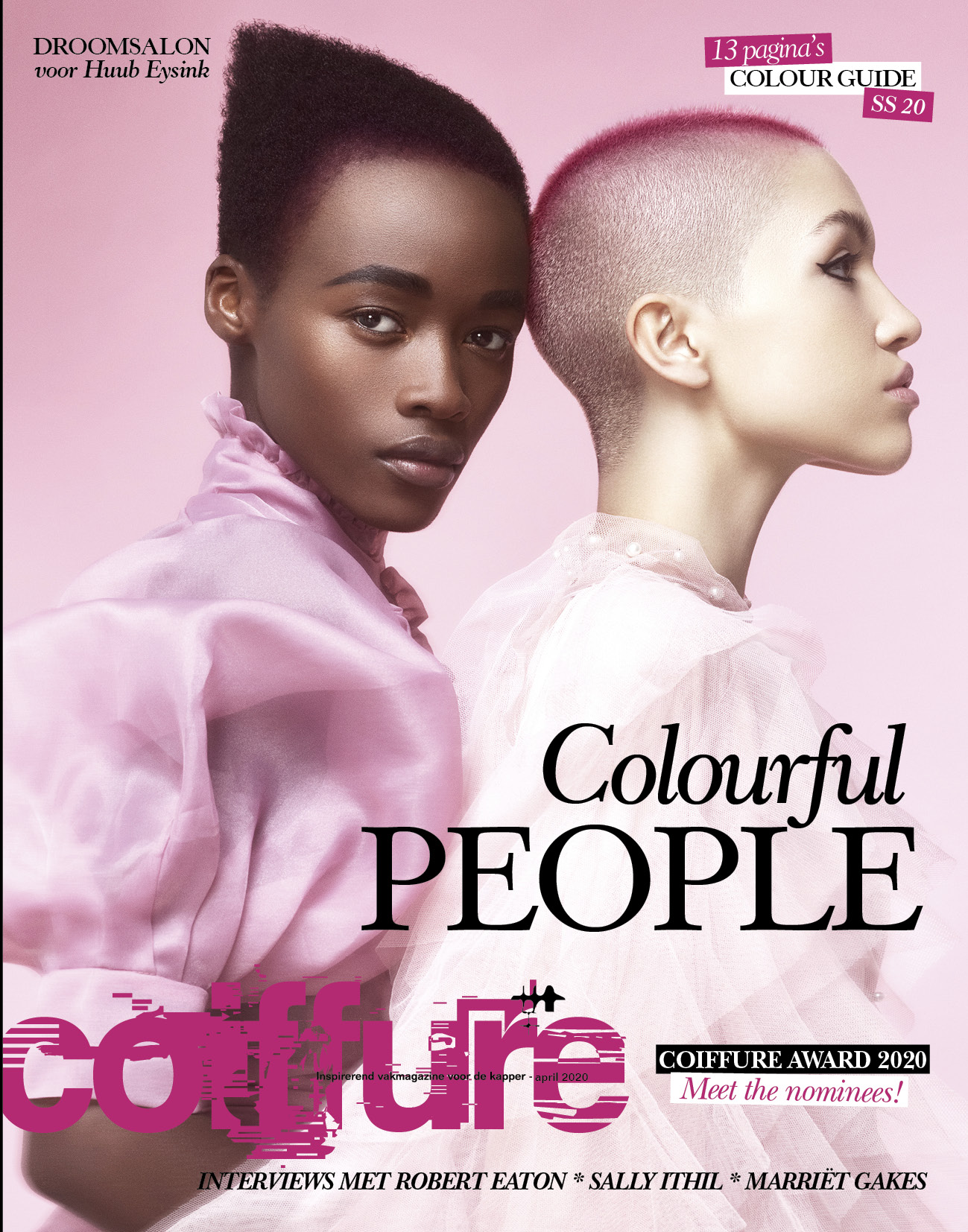 COIFFURE mrt 2020: Colourful People