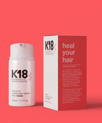 Nieuw haircare merk: K18